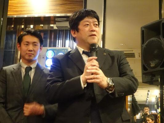 アパホテル株式会社代表取締役専務 元谷 拓様のご挨拶