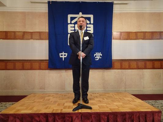 中央大学準硬式野球部 柳川重規部長より挨拶