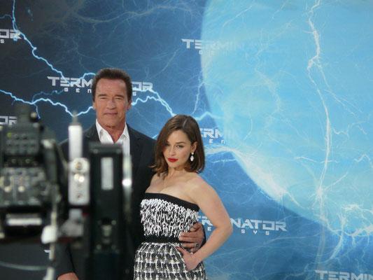 Terminator Genisys - Arnold Schwarzenegger - Emilia Clarke - kulturmaterial