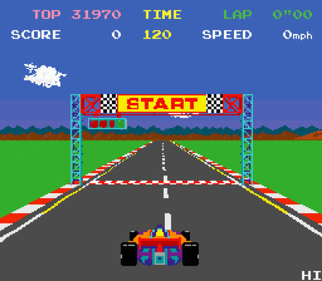 Push Start - Pole Position - 1982 - earBOOKS - kulturmaterial