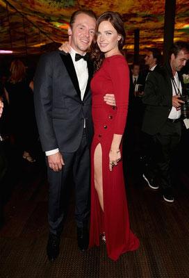 Simon Pegg und Rebecca Ferguson © PARAMOUNT Pictures