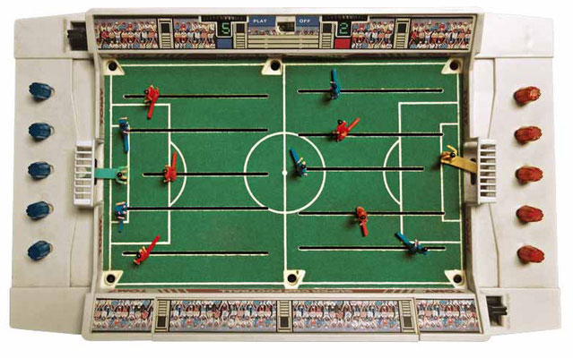 Vintage Toys - Seideldesign Foto Copyright - earbooks - kulturmaterial - Super Cup Football 1979