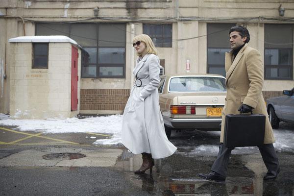 Anna Morales (Jessica Chastain) und Abel Morales (Oscar Isaac) © UNIVERSUM