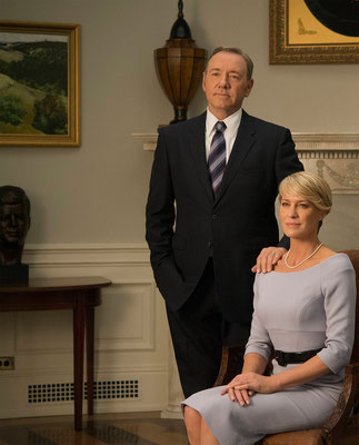 House Of Cards Blu-ray DVD - Kevin Spacey - Robin Wright - Sony - kulturmaterial