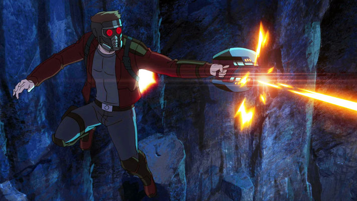 Disney XD Guardians Of The Galaxy Serie - Peter Quill The Star-Lord - kulturmaterial