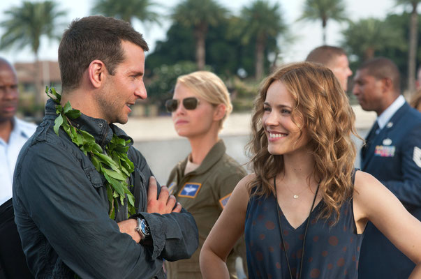 vlnr: Bradley Cooper, Emma Stone, Rachel McAdams © 20th CENTURY FOX