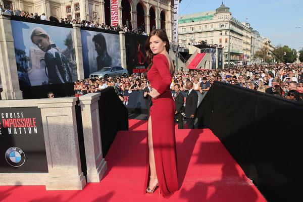 Rebecca Ferguson präsentiert sich Wien © PARAMOUNT Pictures