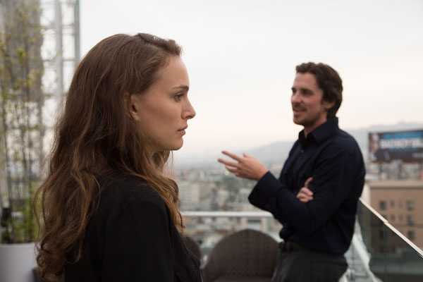 Knight Of Cups - Natalie Portman und Christian Bale - Studiocanal - kulturmaterial