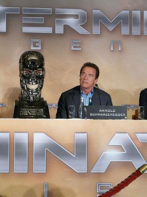 Terminator Genisys - Arnold Schwarzenegger - Pressekonferenz Berlin - kulturmaterial