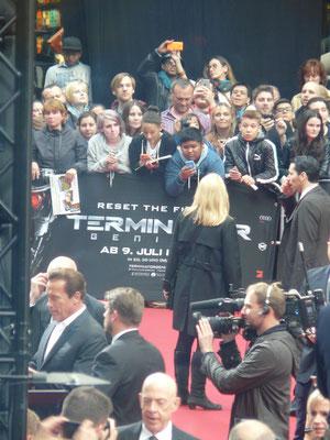 Terminator Genisys - Arnold Schwarzenegger - Premiere Berlin - kulturmaterial - 2