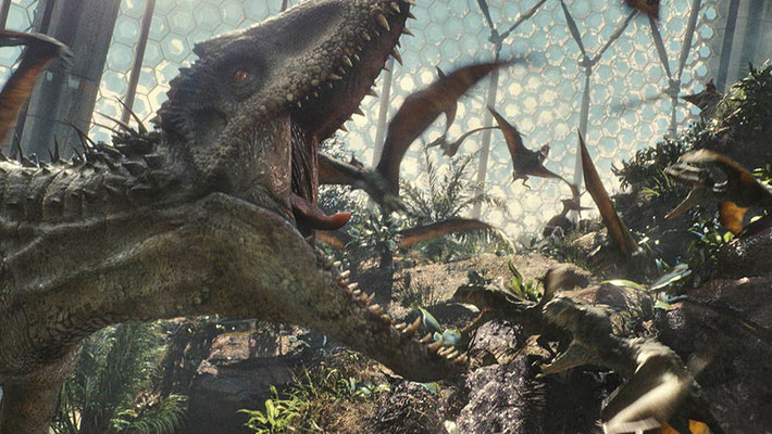 Gut gebrüllt, Indominus Rex! © UNIVERSAL