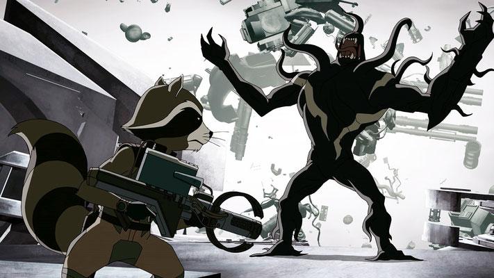Disney XD Guardians Of The Galaxy Serie - Rocket Raccoon - kulturmaterial