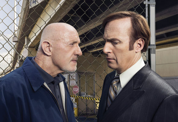 Better Call Saul Blu-ray DVD - Jonathan Banks - Bob Odenkirk - Credit Ursula Coyote for Netflix - Sony - kulturmaterial