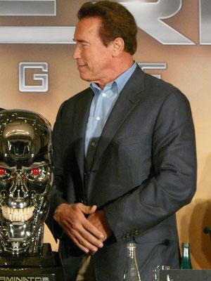 Terminator Genisys - Arnold Schwarzenegger - Pressekonferenz Berlin - 4 - kulturmaterial