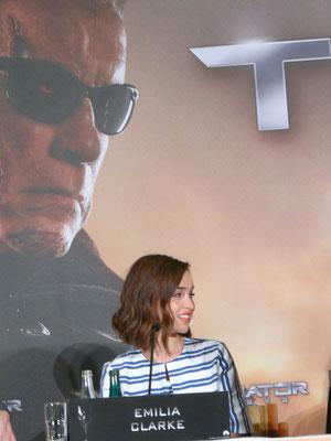 Terminator Genisys - Emilia Clarke - Pressekonferenz Berlin - kulturmaterial