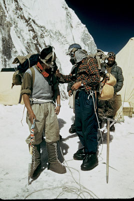 Edmund Hillary - Tenzing Norgay - Everest - 29 Mai 1953 - George Lowe Collection - Knesebeck - kulturmaterial