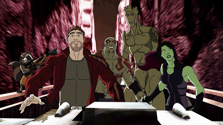 Disney XD Guardians Of The Galaxy Serie - kulturmaterial -1