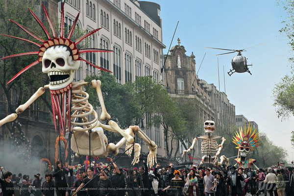 Spectre - Bond 24 - Mexico City - Sony - kulturmaterial