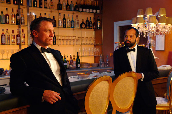 Daniel Craig und Jeffrey Wright © Danjaq LLC / Metro-Goldwyn-Mayer / 20th Century Fox Home