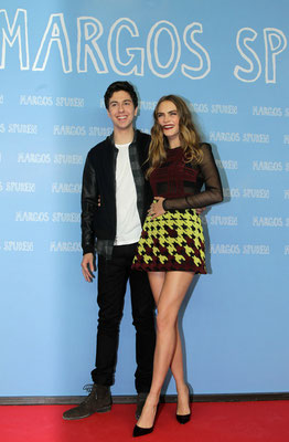 Nat Wolff (links) und Cara Delevingne © 20th CENTURY FOX Pictures
