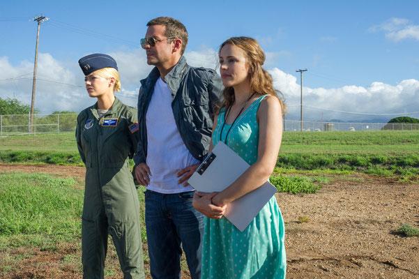 vlnr: Emma Stone, Bradley Cooper, Rachel McAdams © 20th CENTURY FOX