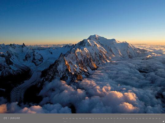 Mont Blanc - Interfoto - Jean-Francois Hegenmuller - Heye - kulturmaterial