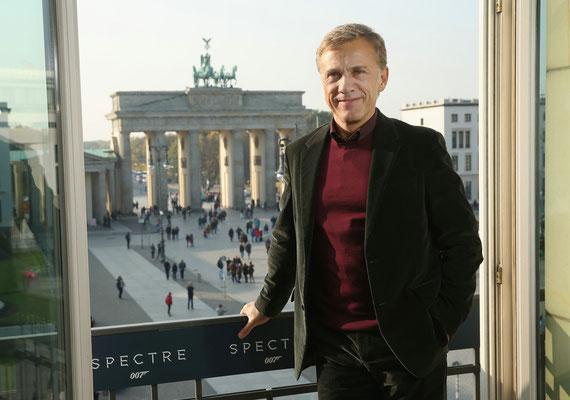Spectre Berlin Premiere - Bond 24 - Christoph Waltz - Sony - kulturmaterial