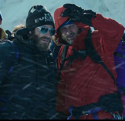 Everest Film - Jake Gyllenhaal als Scott Fischer - Jason Clarke als Rob Hall - Universal - kulturmaterial