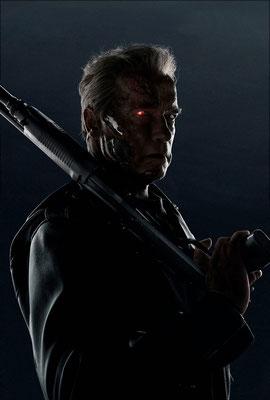 Terminator Genisys T-800 im Aussehen Arnold Schwarzeneggers 2015 © PARAMOUNT Pictures