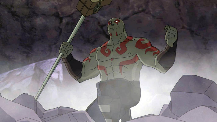 Disney XD Guardians Of The Galaxy Serie - Drax - kulturmaterial