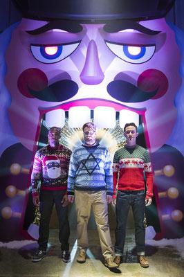 Die Highligen Drei Könige - Anthony Mackie - Seth Rogen - Joseph Gordon-Levitt - Sony - kulturmaterial