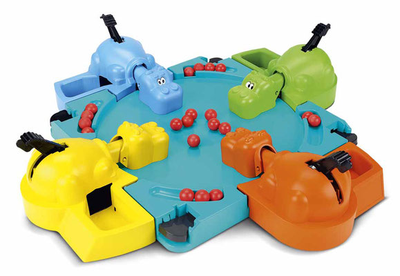 Vintage Toys - Hasbro Foto Copyright - earbooks - kulturmaterial - Hungry Hungry Hippos 1978