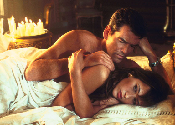 Pierce Brosnan und Sophie Marceau © Danjaq LLC / Metro-Goldwyn-Mayer / 20th Century Fox Home