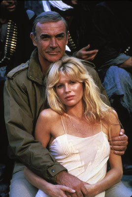 Sean Connery und Kim Basinger © Danjaq LLC / Metro-Goldwyn-Mayer / 20th Century Fox Home