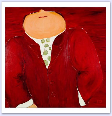 Afspraakje (Meneerke) - Acrylic on canvas - 100x100