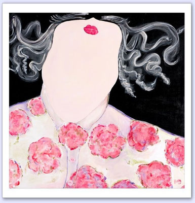 Rose - Acrylic on canvas - 50x50