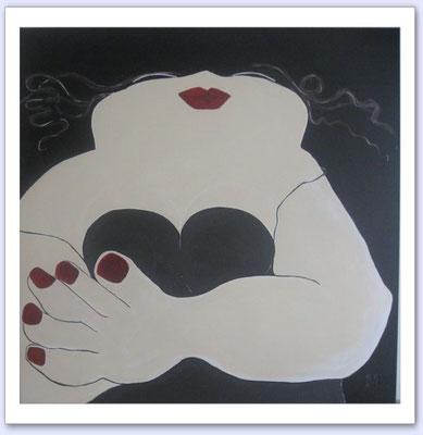 Zij II - Acrylic on canvas - 100x100