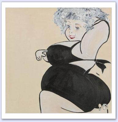 Sensualité - Acrylic on canvas - 50x50
