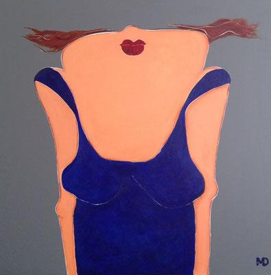 Ta Tienne II - Acrylic on canvas - 100x100