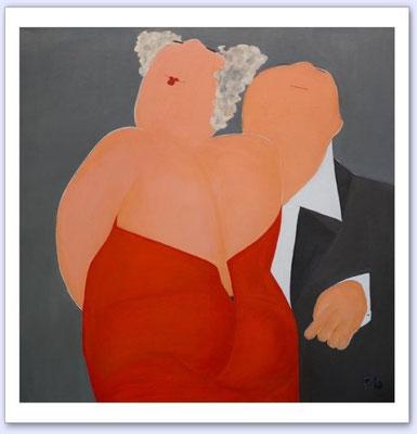 Oh La La La - Acrylic on canvas - 100x100