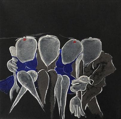All of me (2) - Acryl - 23x23