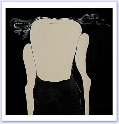 Zij - Acrylic on canvas - 100x100