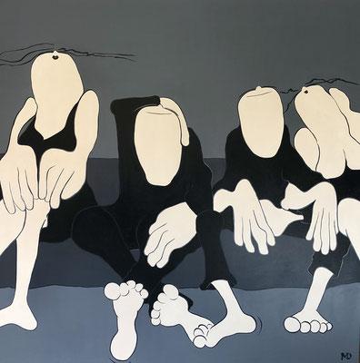 L'Amitié - Acryl - 150x150