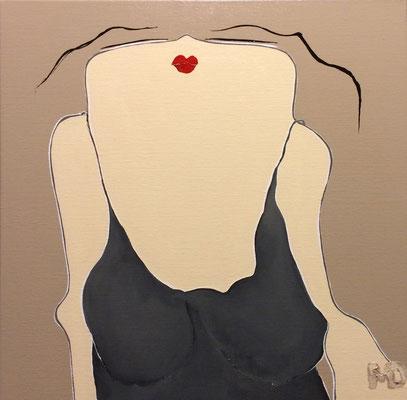 Sugar Girl 1 - Acryl - 50x50