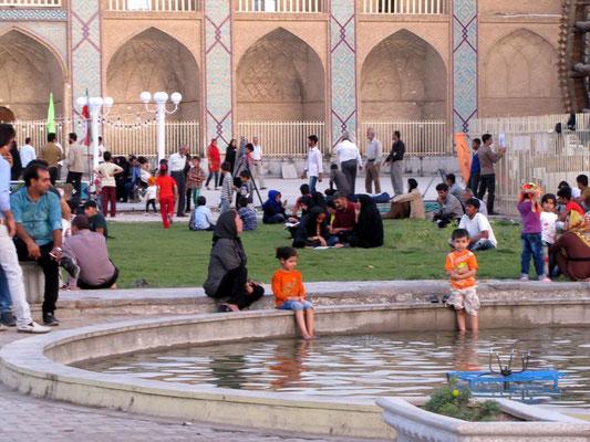 in Yazd  Abkühlung