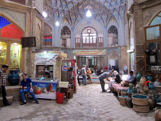 Teehaus im Bazar