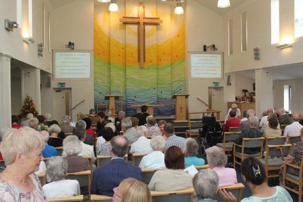 Gottesdienst in der Trinity Church