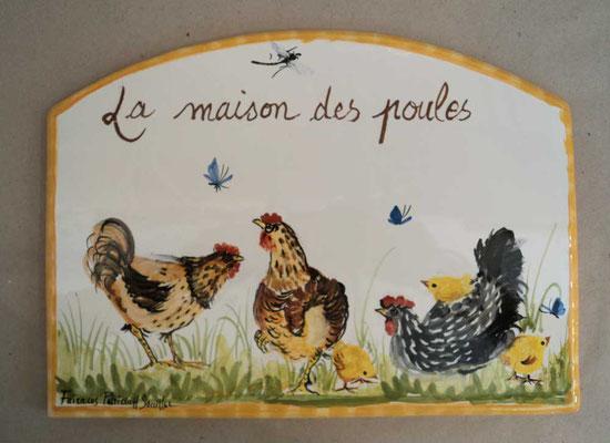 La maison des poules.