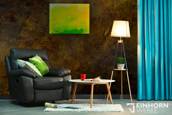 Rostige Wand mit Pandorra Rostspachtel