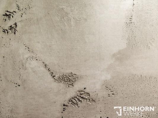 EINHORN WERKE - TORINO BETON No. 0303 + shabby finish schwarz EINHORN WERKE ® edle Wände